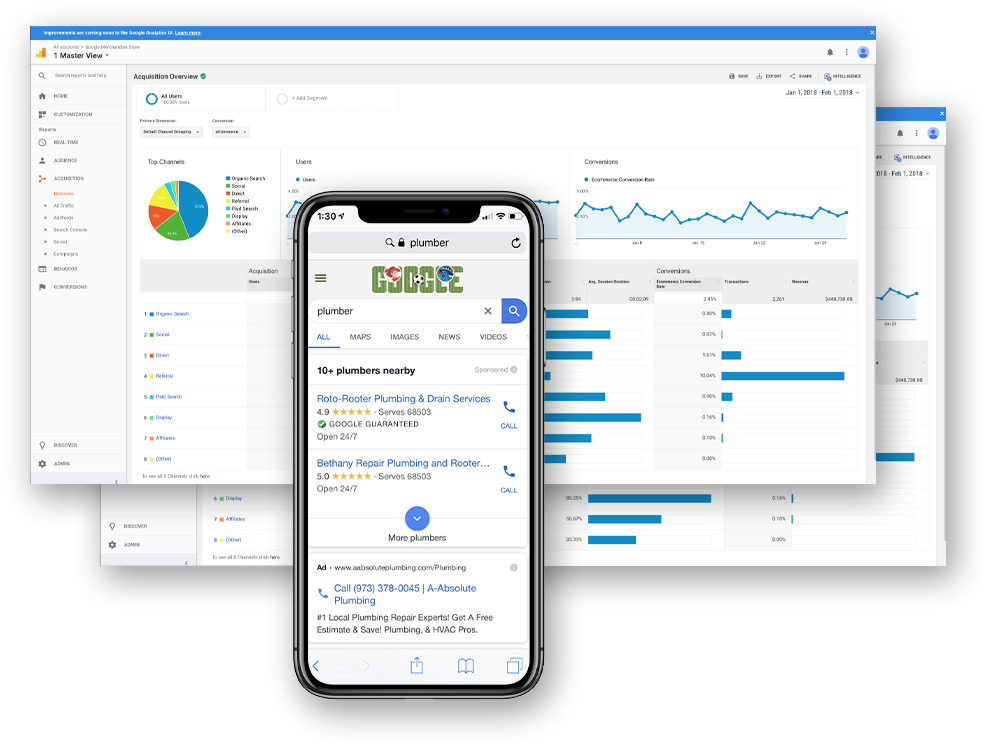 ppc services dashboard