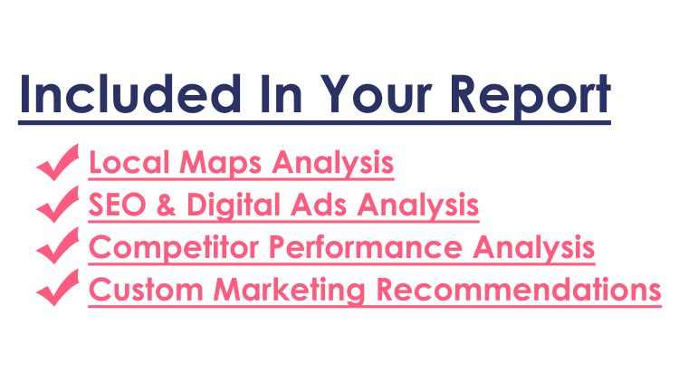 what's included in your report